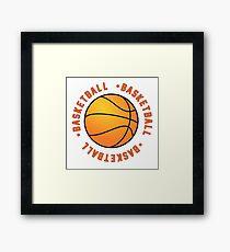 Basketball! Framed Print