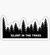 Silent In The Trees - Twenty One Pilots  Sticker