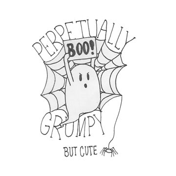 Perpetually Grumpy by kaelynnmara