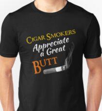 Cigar Smoker Funny Quote T Shirt Gift Unisex T-Shirt