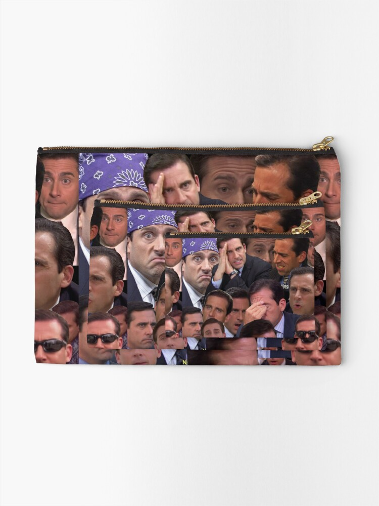 Alternate view of The Office Set Zipper Pouch