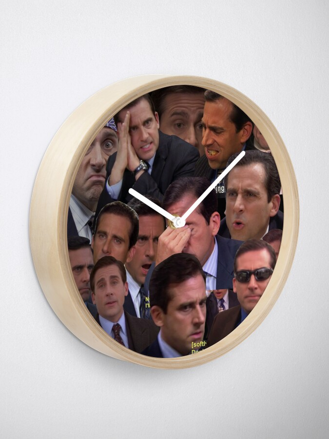 Alternate view of The Office Set Clock