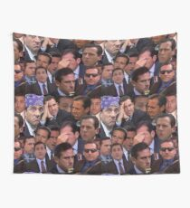 The Office Set Wall Tapestry