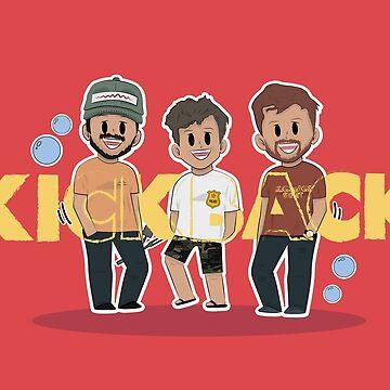 KICKBACK - MYLES PARRISH, SCOTTY SIRE & HEATH HUSSAR by tbhfelisha