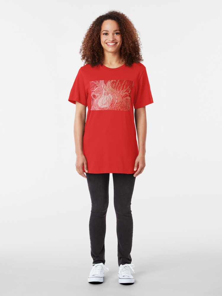 Alternate view of Soul Unfolding Tee Slim Fit T-Shirt