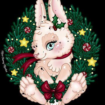 Christmas Bunny by CherryMartini