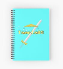 Temple OS Spiral Notebook