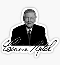 Cocaine Mitch Sticker