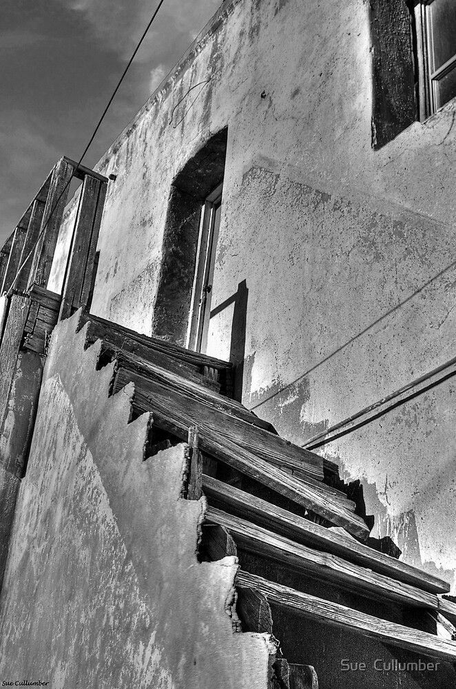 Top of the Stair by Sue  Cullumber