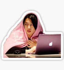 Hiding Heechul Sticker