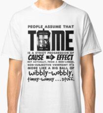 Wibbly-Wobbly Timey-Wimey...Stuff. Classic T-Shirt