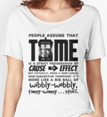 Wibbly-Wobbly Timey-Wimey...Stuff. Women's Relaxed Fit T-Shirt