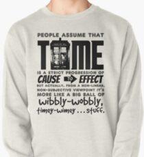 Wibbly-Wobbly Timey-Wimey...Stuff. Pullover