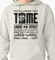 Wibbly-Wobbly Timey-Wimey...Stuff. Pullover Hoodie