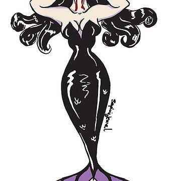 Vampire Mermaid by SophieJewel