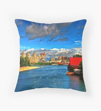 Hidropark Throw Pillow