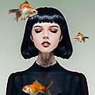 Goldfish Dreaming by Vin  Zzep