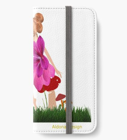 A Fairy sitting on a Holly branch ( 1186 Views) iPhone Wallet