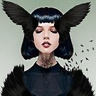 Wings of a Dark Dove by Vin  Zzep
