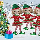 3 little elves {298 Views} by aldona