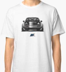 MAZDA gray miata mx-5 NA with stripes Classic T-Shirt