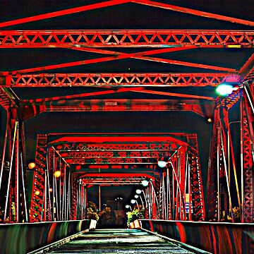 Red Bridge HDR by Wayne48