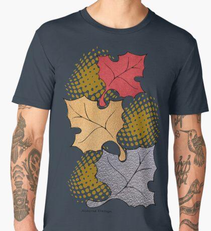 Thanks giving  & 3 leaves pattern ( 183 Views) Men's Premium T-Shirt