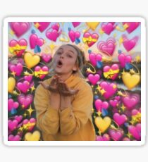 emma chamberlain LOVE Sticker