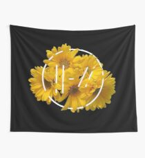 trench yellow flower Wall Tapestry