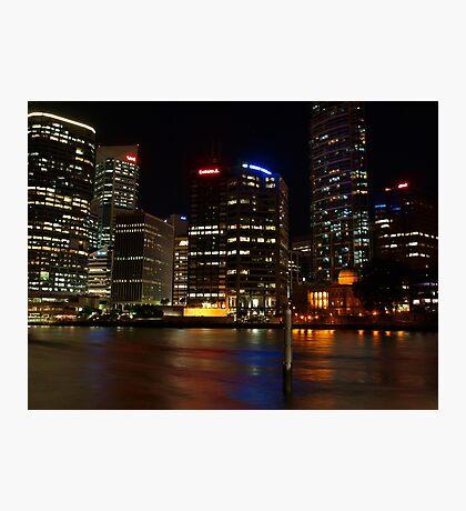 Holman Street view of Brisbane City Photographic Print