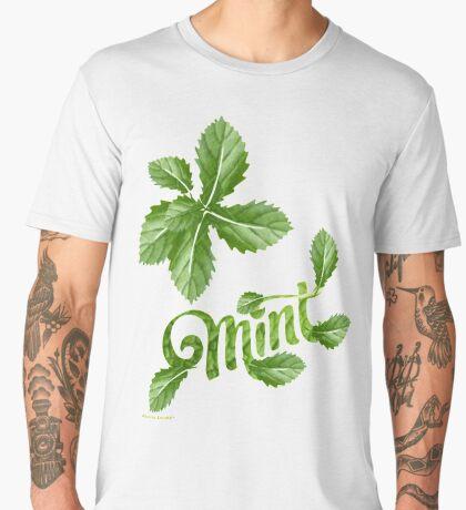 Herbal Tea /mint  (12901 Views) Men's Premium T-Shirt