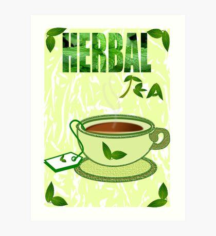 Herbal Tea /mint  (12901 Views) Art Print