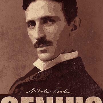Nikola Tesla  by kurticide