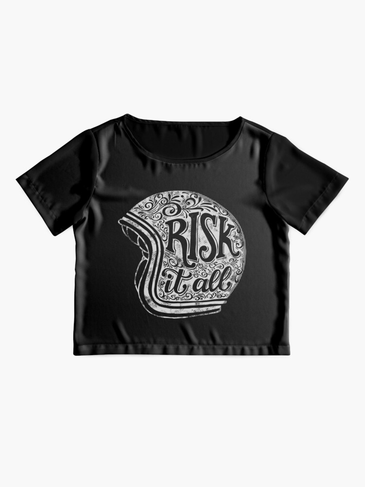 Alternate view of Risk It All Chiffon Top