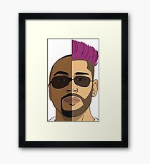 Too Much Framed Print
