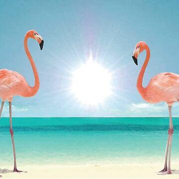 Pink Flamingos by MUMtees