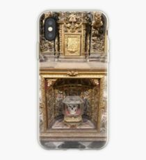 The skull and the altar iPhone Case