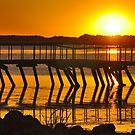 Abandoned dock by Brad Chambers