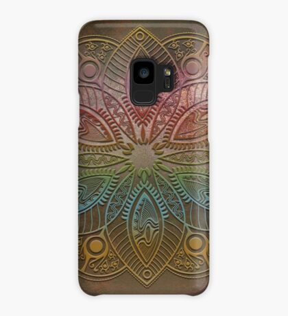 Mobile skin mandala colors Case/Skin for Samsung Galaxy