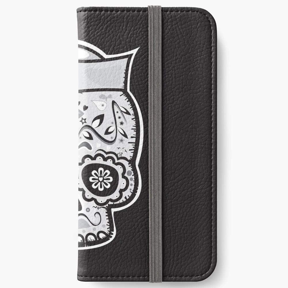 Marinero muerto sugar skull iPhone Wallet