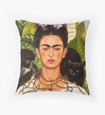 Frida Kahlo Painting Throw Pillow