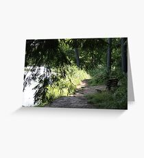 Shady Rest Greeting Card
