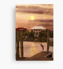 Evening Glow / South Carolina  / Canvas Print