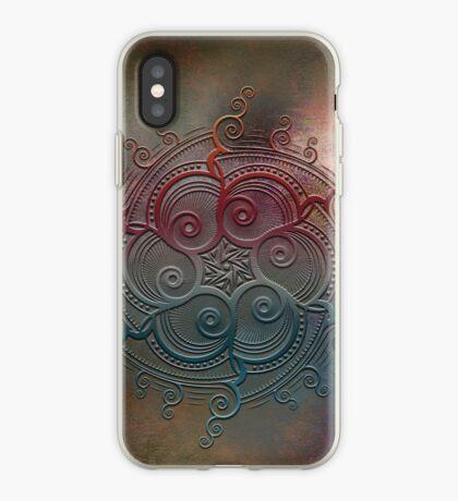 Mobile skin case mandala split iPhone Case
