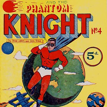 Phantom Knight Comic #4 by Stingrae
