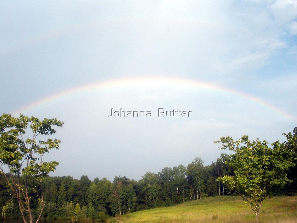 Double Rainbow by Johanna  Rutter