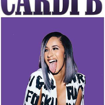 Cardi B hoodie by beygerpatryk