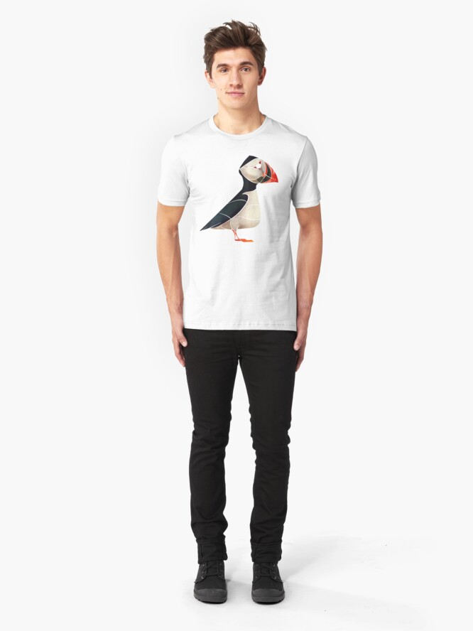 Alternate view of Puffin  Slim Fit T-Shirt