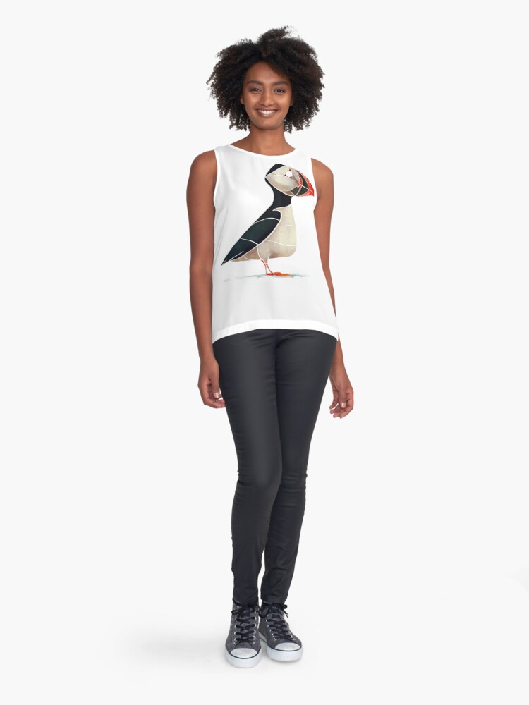 Alternate view of Puffin  Sleeveless Top
