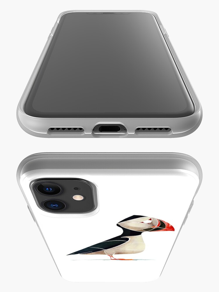 Alternate view of Puffin  iPhone Case & Cover